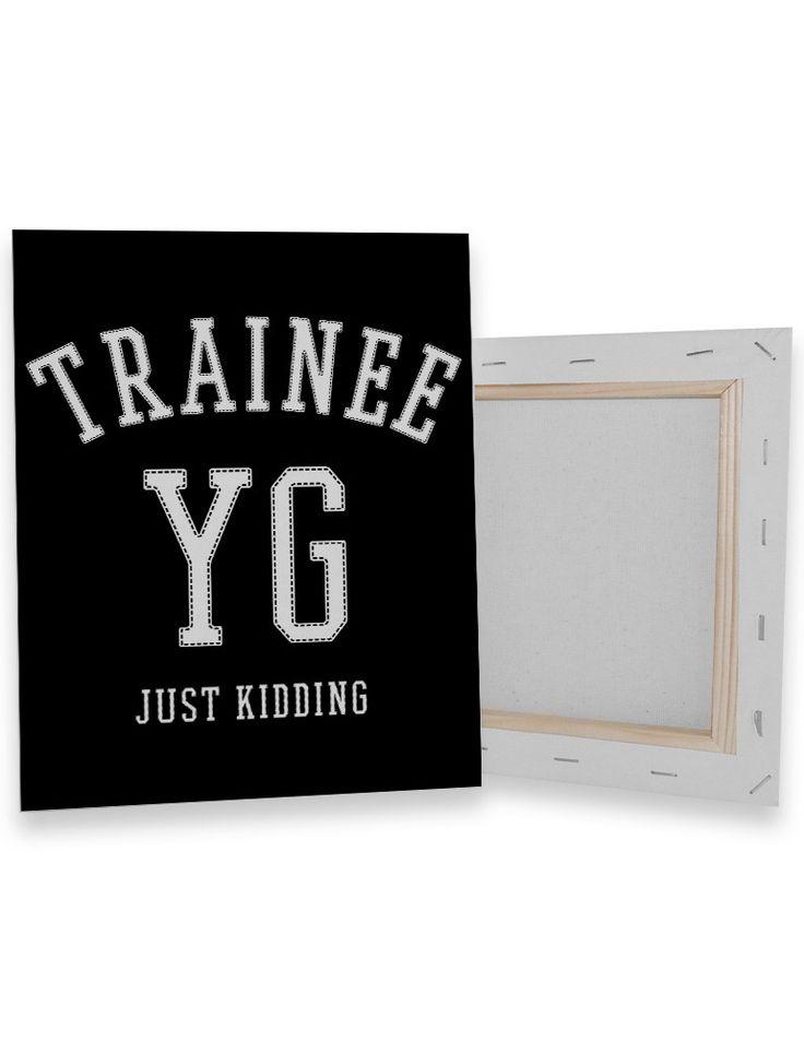 YG Trainee Canvas