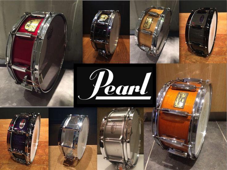 スタジオノア全店のレンタルスネアまとめてみた 〜Pearl編〜 #studionoah #drum #snare #スネア #pearl #機材情報 #chadsmith #drum #ドラム