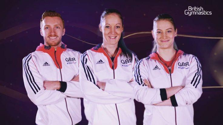 Meet Team GB's Trampoline Gymnasts #Rio2016 - YouTube