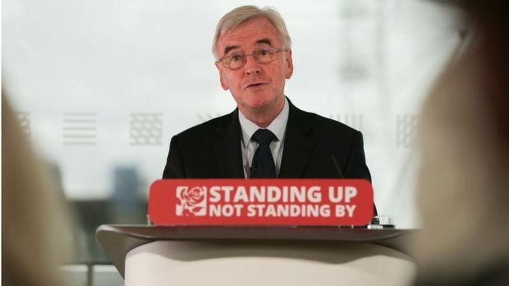 EU referendum result must be respected, says John McDonnell - BBC News