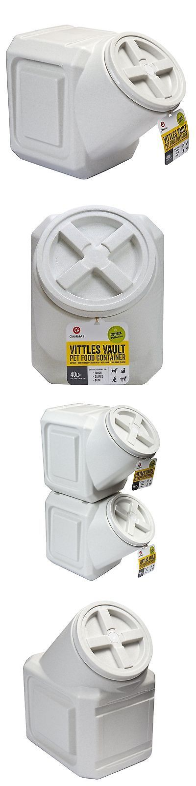 Dishes Feeders and Fountains 177789: Vittles Vault Airtight Stackable Pet Food Container 40 Lbs BUY IT NOW ONLY: $31.32