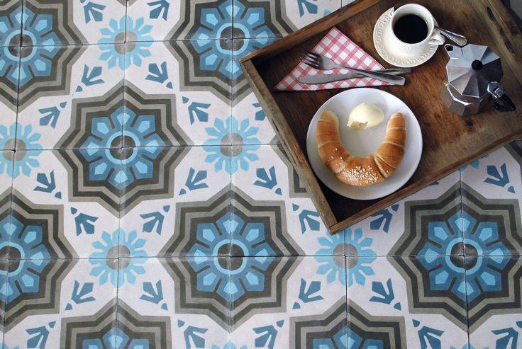 baraka cement tiles + breakfast