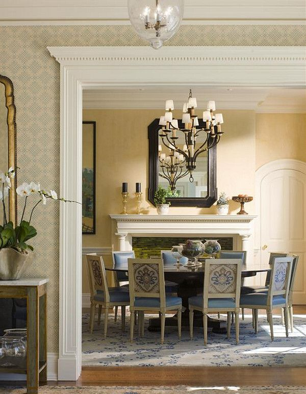 DINING ROOM – a feast for the eyes.