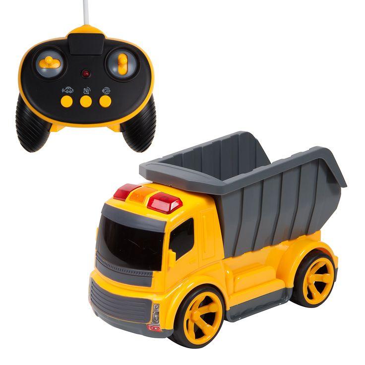 Masini utilitare - Autobasculanta cu radiocomanda, masini cu telecomanda ieftine de Craciun  Vezi pe http://www.buyxpress.co/masini-utilitare-autobasculanta-cu-radiocomanda/