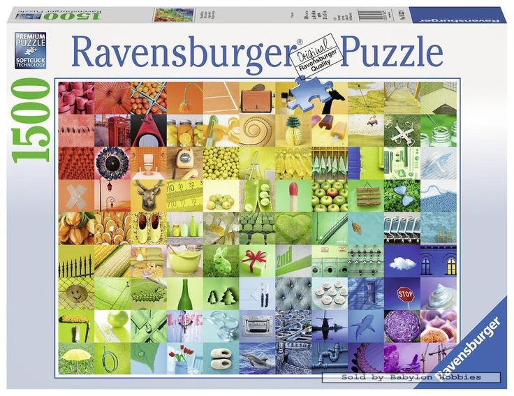 1500 pcs jigsaw puzzle: Beautiful Colors (Art) (Ravensburger 163229) #Ravensburger