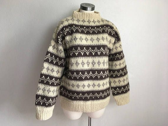 Check out this item in my Etsy shop https://www.etsy.com/listing/558483549/peru-alpaca-wool-sweater-jumper-peruvian