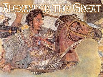 Beautiful Alexander the Great PowerPoint Lesson! Includes great visuals, easy to understand notes, maps, and more! Awesome for middle school through 10th grade!