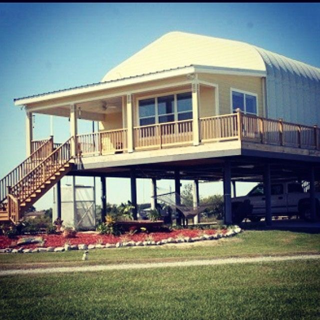 One Of Our Customers Steel Hurricane Proof Home In Louisiana. We Want To  Live Here