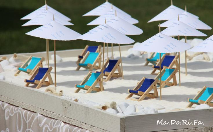 Ma.Do.Ri.Fa.: Nozze a tema spiaggia