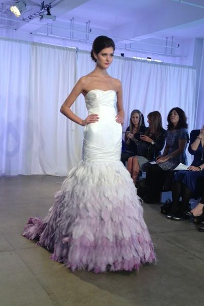 22 best wedding dresses in ombre images on pinterest for Purple ombre wedding dress