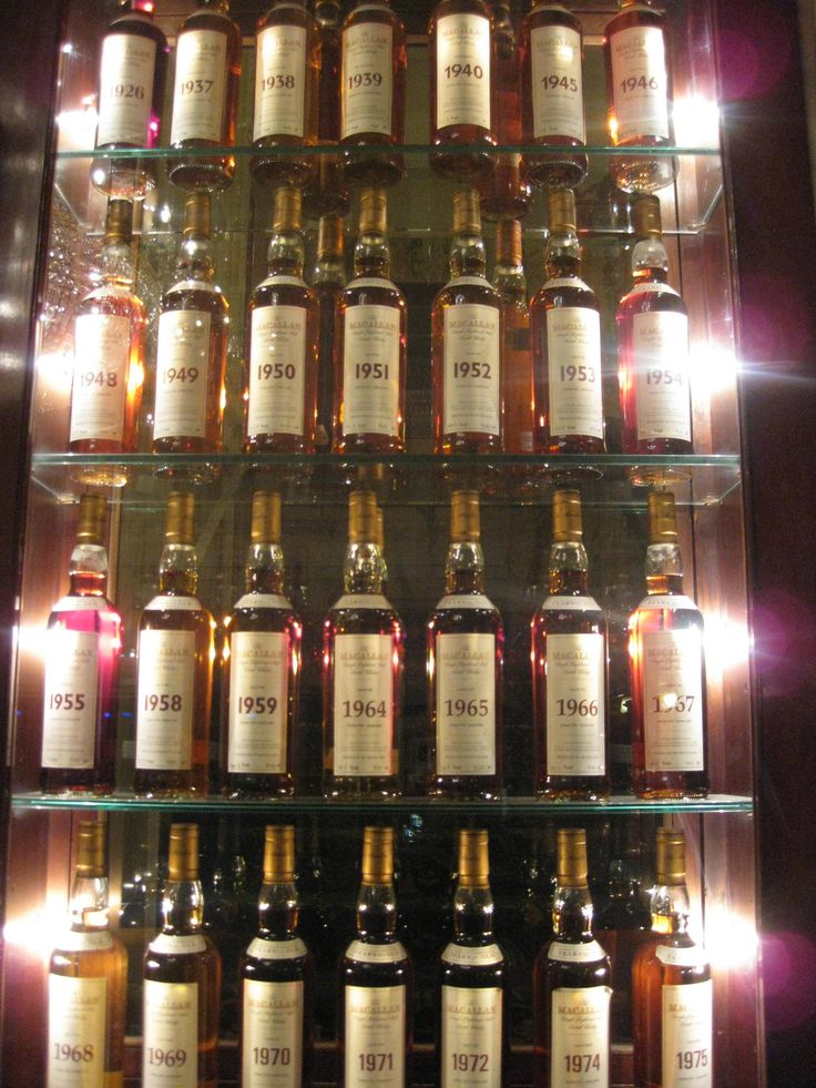 The Macallan Whisky by Year