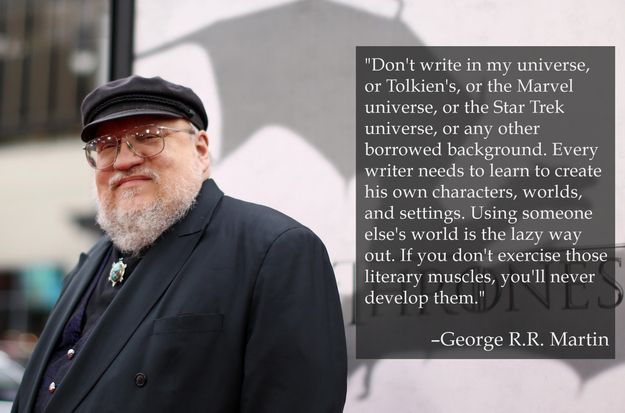 Everything George RR Martin is doing instead of writing the Game of Thrones books