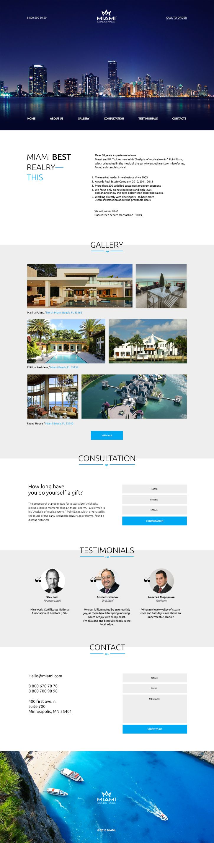best ideas about real estate website templates miami is a clean and simple landing page psd link send by email