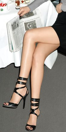 love the straps! by Jimmy choo as i think the straps around
