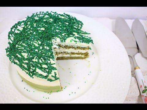 Торт с Чаем Матча / Matcha Cake - YouTube