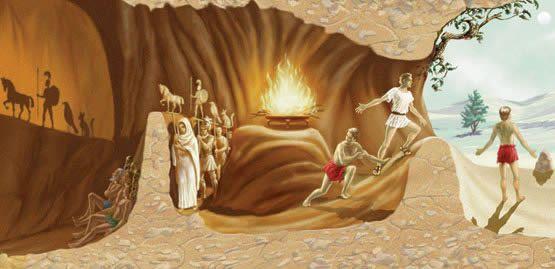 Ο Πλάτων στη σύγχρονη εποχή…  ο «Μύθος του σπηλαίου» http://pelogotechnon.gr/o-platon-sti-sigxroni-epoxi-o-miuos-tou-spilaiou/