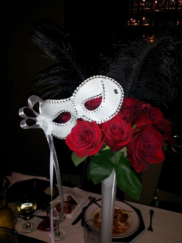 Phantom Of The Opera Theme Centerpieces By Me Party