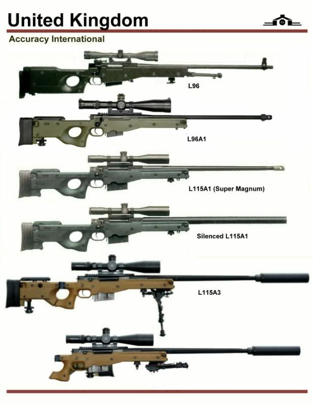 Accuracy International Sniper Rifle L96 and L115 SeriesFind our speedloader now!  http://www.amazon.com/shops/raeind