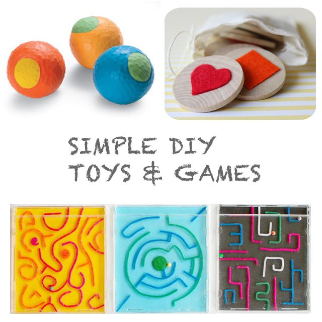 Simple DIY Toys & Games: For Kids, Kids Stuff, Diy Games, Homemade Toys, Diy Toys, Handmade Crafts, Diy Kids, Diy Projects, Kids Games