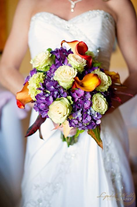 #Tropical wedding bouquet