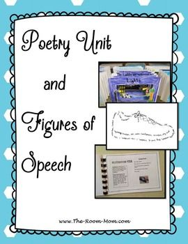 PLEASE READ: This bundle contains a zipped file of my Poetry Unit and Figures of Speech Tic Tac Toe game.  In the poetry unit, students identify 6 figures of speech, read poetry examples that contain the figures of speech, and write poems that demonstrate 4 of the figures of speech.