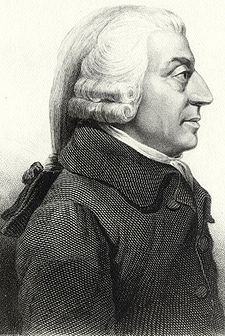 Adam Smith (1723-1790) Magnum Opus: An Inquiry into the Nature and Causes of the Wealth of Nations (1776)