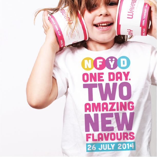 ONE DAY. TWO AMAZING NEW FLAVOURS!   If you thought NFYD couldn't get any better - it just did. On 26 July we will be swirling TWO BRAND NEW delicious flavours!  Stay tuned for our NFYD flavour competition next week!