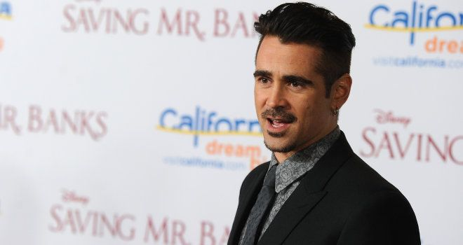 Colin Farrell on \'Saving Mr. Banks,\' Getting Fired From a Bank Job, and the Power of Imagination. SERIOUSLY, this was the best acting of Colin I have ever seen. Brillliant.