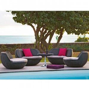 salon de jardin 4 personnes rsine tresse table chaise salon de jardin - Salon De Jardin Mtal Color