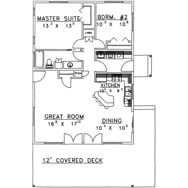 House Plan 117 244 Grandma 39 S Mother In Law Great