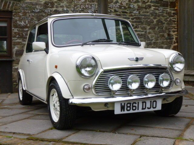 Classic Mini Seven In Old English White On Just 22800 Miles From New Classic Mini Mini Cars For Sale Mini Sales