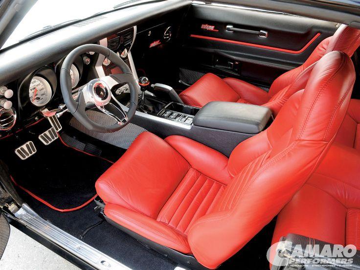 1968 Chevy Camaro Z28 Custom Interior