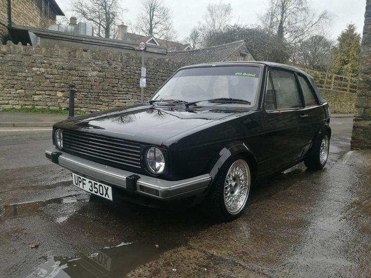 eBay: Mk1 Volkswagen Golf GLI 1.6 Convertible Spares or Repairs Mark 1 Matt Black Rat #carparts #carrepair