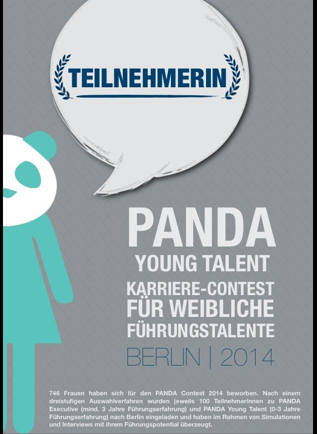 #Panda2014 #contest #karriere #talent #führung