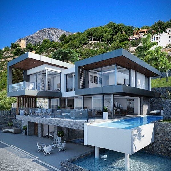 Villa in Javea, Spain - designed by PG Karchviz