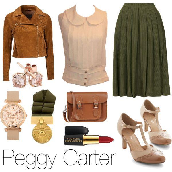 Peggy Carter (SP) I really like the jacket!!