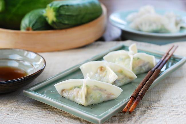 Korean Temple Food and Hobak Mandu