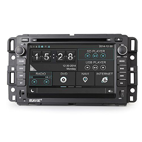 Rupse For GMC Yukon Acadia Chevy Silverado Express 7 Inch Car DVD GPS Player with Bluetooth Phone book and Music - https://www.caraccessoriesonlinemarket.com/rupse-for-gmc-yukon-acadia-chevy-silverado-express-7-inch-car-dvd-gps-player-with-bluetooth-phone-book-and-music/  #Acadia, #Bluetooth, #Book, #Chevy, #Express, #Inch, #Music, #Phone, #Player, #Rupse, #Silverado, #Yukon #Chevrolet, #Enthusiast-Merchandise