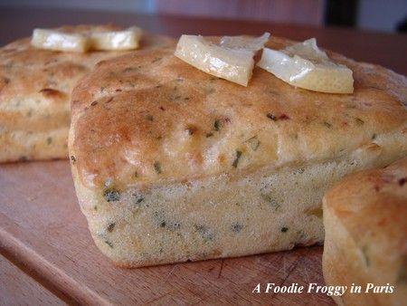 Snacks for Hanoukka  or Christmas : idea#3 smoked salmon and preserved lemon mini-loaves.