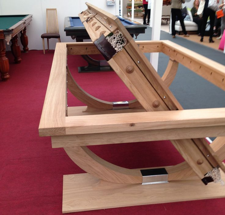 A dining table/ pool table! Yes please.