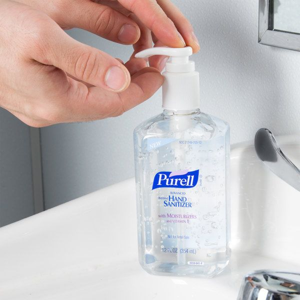Purell 3659 12 Advanced 12 Oz Instant Hand Sanitizer 12 Case