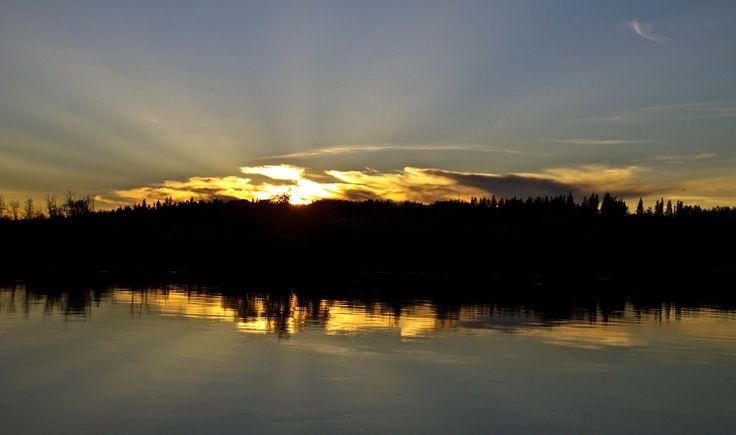 Nechako River Sunset
