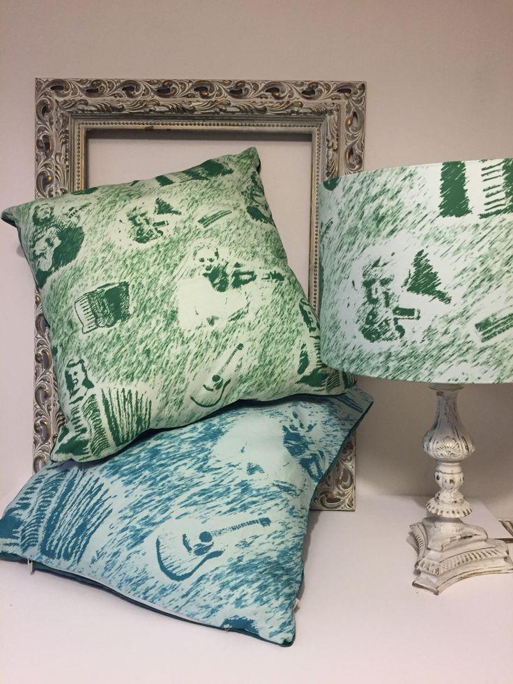 Sangs O Shetland handmade cushions and lampshades