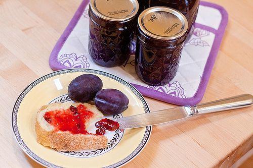 Povidel plum jam-- like grandma used to make
