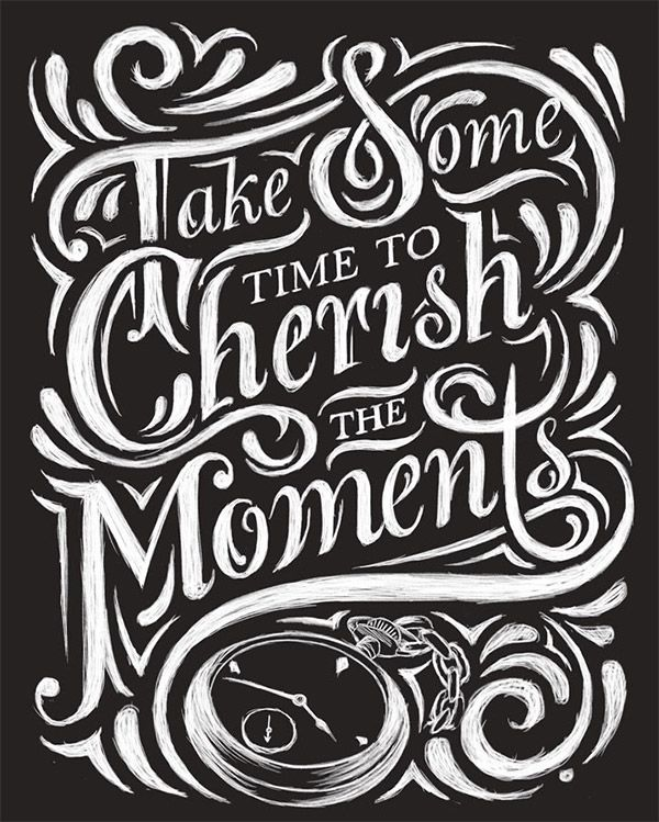 30 Inspirational Chalk Lettering Designs & Wall Murals