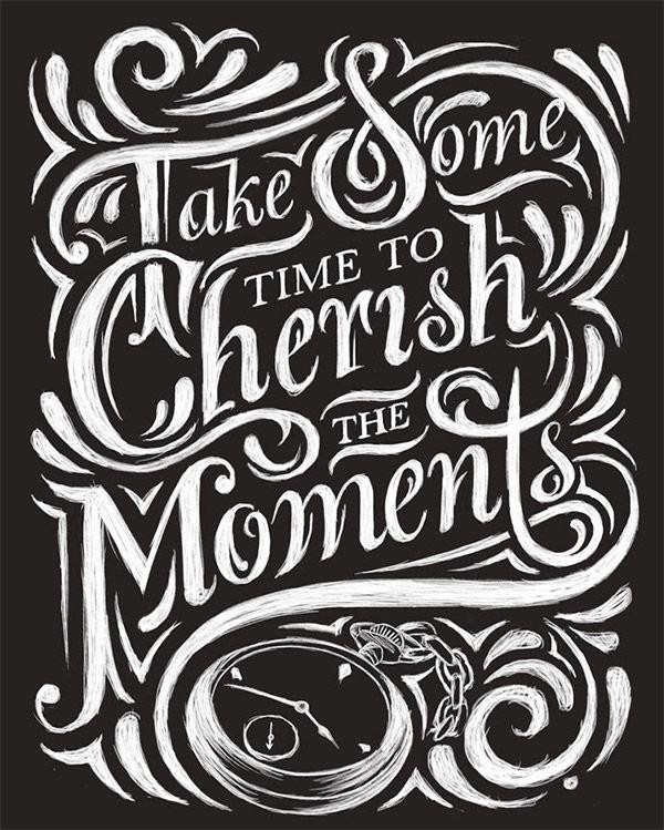 Inspirational Chalk Lettering Designs & Wall Murals