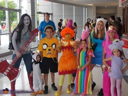 adventure time family costume - Halloween Costumes Family Of 5
