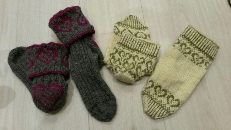 Sydämellisille siskoille sydämelliset sukat ♡