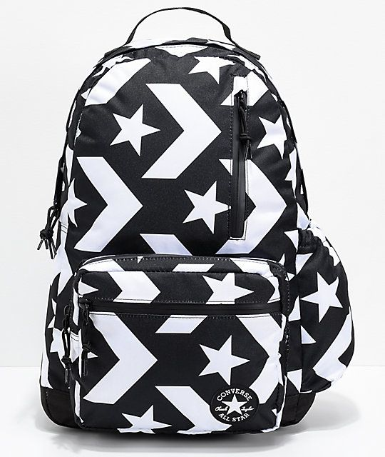 b80962cb5114 Converse Go Black   White Backpack in 2018