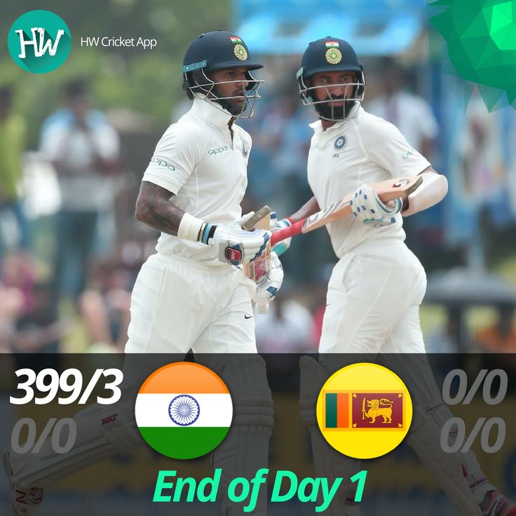A complete run-fest on Day 1! Shikhar Dhawan piled on the runs, followed by Pujara adding to the carnage! Sri Lanka stood no chance! #SLvIND #SL #IND #cricket